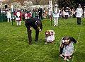 Barack Obama at White House Easter Egg Roll 4-13-09 5.JPG