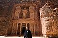 Barack Obama in the ancient city of Petra in Jordan, 2013.jpg