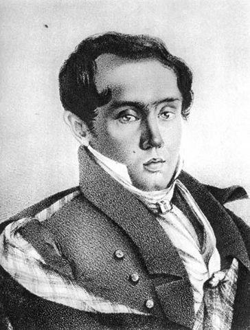Е.А.Баратынский, 1820-е гг.