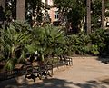Barcelona - Urlaub 2014 - Brunnen & Park am Platz Duc de Medinaceli 001.jpg