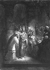 Anno 1039. Bernulf wordt tot bisschop van Utrecht aangesteld