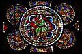Bas-côté sud, baie III Vie de la Vierge et Enfance du Christ, le Christ enseignant (1250-1270).jpg
