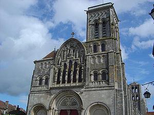 Basilique à Vézelay