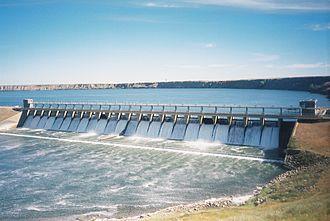Bassano, Alberta - The Bassano Dam