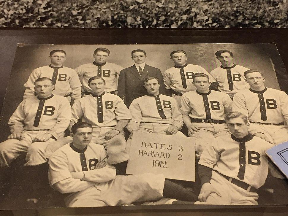 Bates-Harvard game 1912
