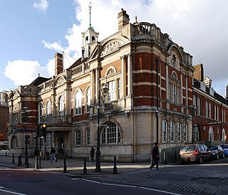 Battersea Arts Centre performance space in the London Borough of Wandsworth, England, the former Battersea Town Hall