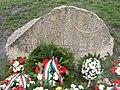Battle of Tétény memorial stone. - Nagytétény, Budapest.JPG
