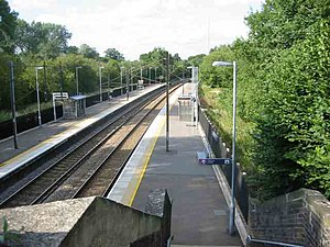 Bayford railway station - Image: Bayford Railway Station