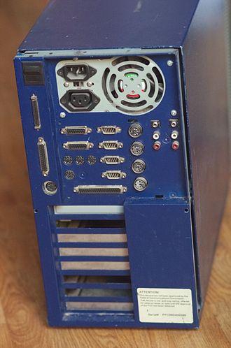 BeBox - connectors of the I/O board