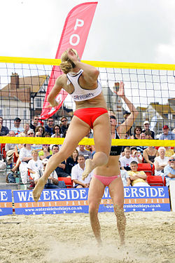 how do i become a pro beach volleyball player