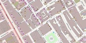 Beak Street - The immediate vicinity of Beak Street