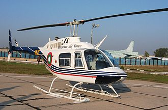 Bell 206 - Bulgarian Air Force Bell 206