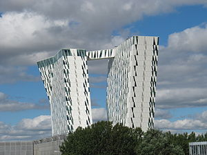 Bella Sky Hotel in the Ørestad district of Cop...