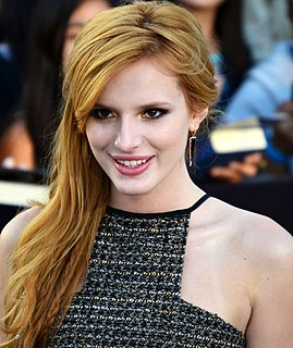 Bella Thorne American actress, model and singer