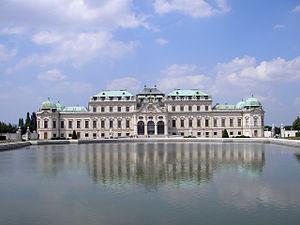 Pavilion - Image: Belvedere Vienna June 2006 009