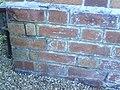 Benchmark on ^97 Friarage Road - geograph.org.uk - 2130543.jpg