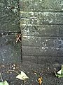 Benchmark on boundary wall of the telephone exchange, South Walks Road - geograph.org.uk - 2084329.jpg