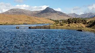 Benglenisky Mountain in Galway, Ireland