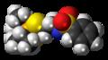 Bensulide molecule spacefill.png