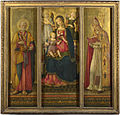 Benvenuto di Giovanni - Altarpiece- The Virgin and Child with Saints.jpg