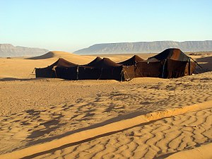 Tent - A Berber tent near Zagora, Morocco