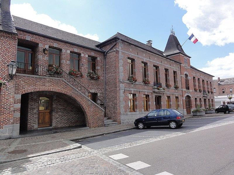 Berlaimont (Nord, Fr) mairie