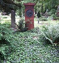 Berlin, Kreuzberg, Bergmannstrasse, Dreifaltigkeitsfriedhof II, Grab Henrich Steffens.jpg