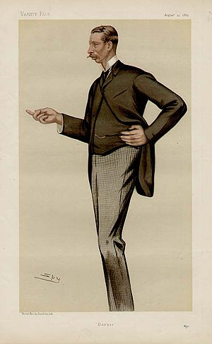 Bernard FitzPatrick, 2nd Baron Castletown - 1882 Spy caricature of the 2nd Lord Castletown in Vanity Fair.
