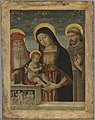 Bernardino di Betto - Virgin and Child with Saints Jerome and Francis of Assisi - 1959.15.16 - Yale University Art Gallery.jpg