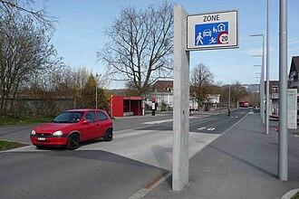 Bremgarten bei Bern - Kalchacherstrasse in Bremgarten