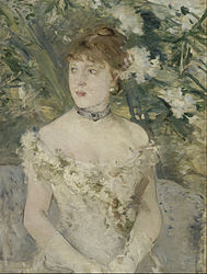 Berthe Morisot: Young Girl in a Ball Gown