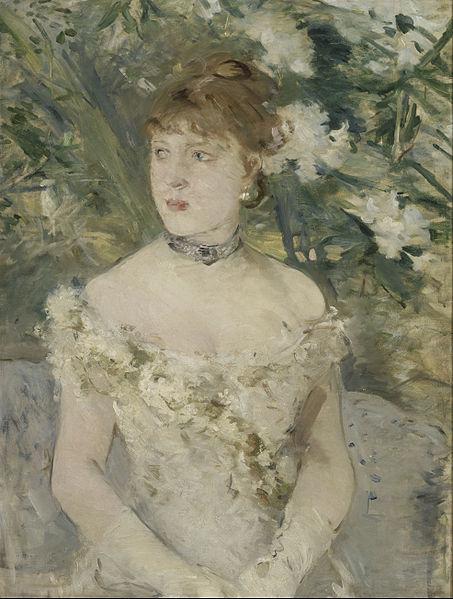 File:Berthe Morisot - Young Girl in a Ball Gown - Google Art Project.jpg