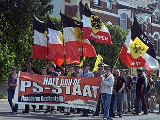 Nationalistische Studentenvereniging - Demonstration of the NSV