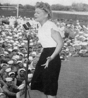 1945 in music - Singer Betty Hutton in 1945