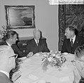 Bezoek minister president Marijnen en minister Luns aan West Duitsland , Marijne, Bestanddeelnr 916-9557.jpg
