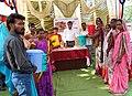 Bhadwad Block Nawapur District Nandurbar Maharashtra VSTF dustbin distribution 17 oct 2018.jpg