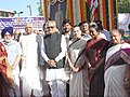 Bhairon Singh Shekhawat, the Speaker, Lok Sabha, Shri Somnath Chatterjee, the Minister of Social Justice and Empowerment, Smt Meira Kumar and other dignitaries paid floral tributes to Baba Saheb.jpg