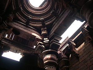 Bhojeshwar Temple - In 2004, before ASI sealed the gaps to prevent rainwater percolation