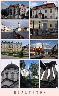 Białystok Place in Podlaskie, Poland