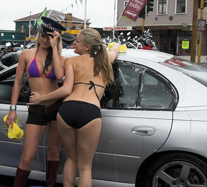 File:Bikini car wash - From Auckland - New Zealand.jpg