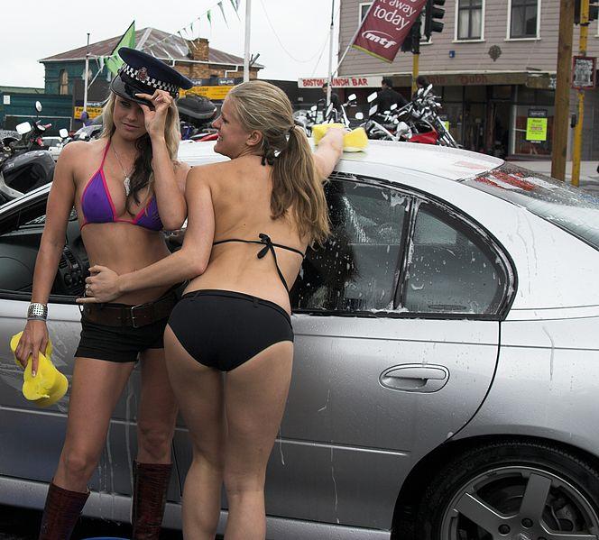File:Bikini car wash - From Auckland - New Zealand.jpg