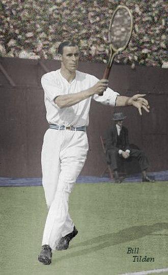 1931 in tennis - 1931 Pro tour champion Bill Tilden