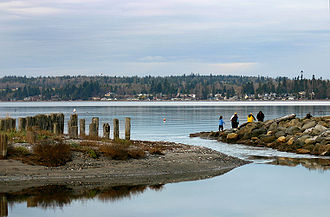 Birch Bay, Washington - Because of its convenient location, many people come here from nearby US and Canadian cities and towns for holidays and short trips.