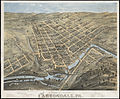 Birds eye view of Carbondale, Pa. (2674310723).jpg