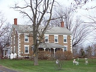 Cobblestone Farmhouse at 1229 Birdsey Road United States historic place