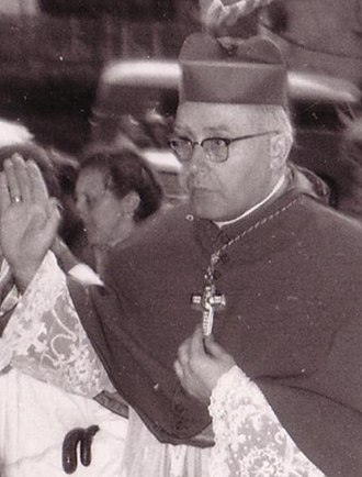 Anneliese Michel - Bishop Josef Stangl (May 1959) who approved the exorcism ordering total secrecy