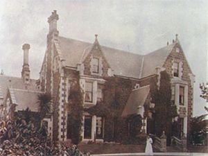 William Mason (architect) - Bishopscourt as it was before it was extended.