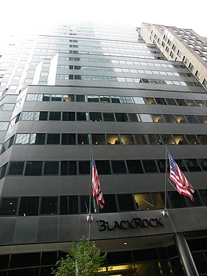 BlackRock - BlackRock headquarters in Midtown Manhattan, New York City.