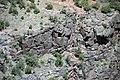 Black Canyon Formation (Paleoproterozoic, 1.759 Ga; Cold Shivers Point, Columbus Canyon, Colorado National Monument, Colorado, USA) 4 (23977672075).jpg
