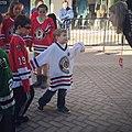 Blackhawks Hockey Clinic at Old Orchard (25036871502).jpg